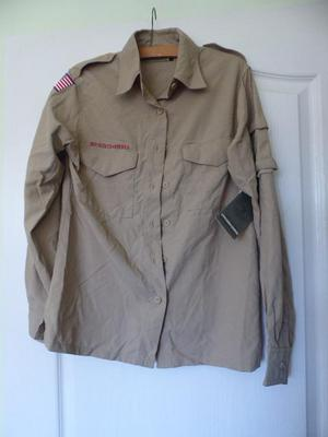 Official Boy scouts of America ladies scout shirt brand new.