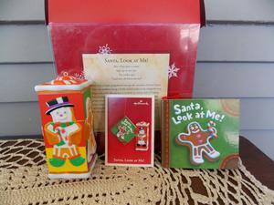 Santa, Look at Me!  Hallmark Christmas Gingerbread Man