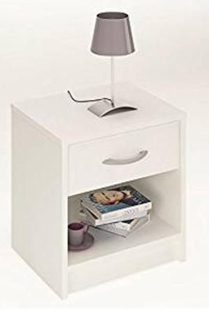 White bedside table for sale