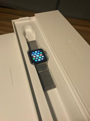 Apple Watch 42mm, stainless steel