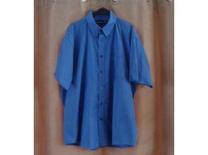 Ben Sherman Blue Short Sleeve Shirt Size Mens XL in Canvey