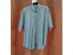 Ben Sherman Pale Blue Short Sleeve Shirt Size Mens XL in