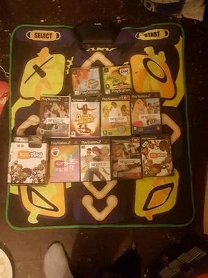 Dance mat ps1 and ps2 and loads of games