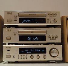 Denon F100 HiFi Component System CD, Tuner Amp and Tape Deck