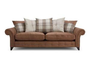 Fairfield 4 Seater & 2 Seater Pillow Back Sofa's with
