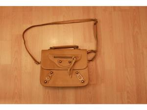 """Fashion Bag Brown - size 14.5""""x12"""" excluding handles in"""