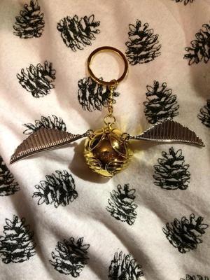 Harry Potter Snitch Key Ring