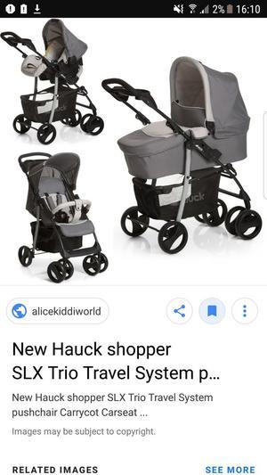 Hauck travel system /pram/pushchair