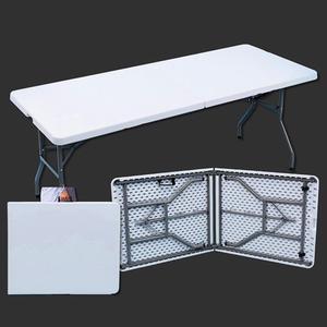 Heavy Duty Folding Trestle Table Picnic Camping BBQ