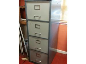 Large filing cabinet in Oakham