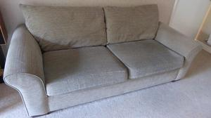 Large settee and chair