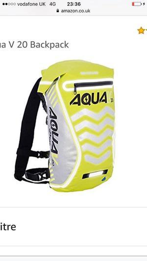 New Oxford Aqua 20L fully waterproof backpack