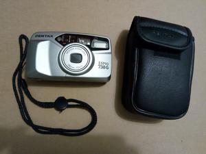 Pentax Espio 738G zoom lens camera & case