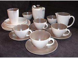 Poole Pottery coffee set. in Alresford