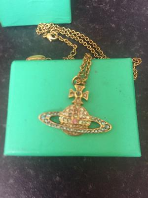 Real Vivienne Westwood pendant and chain