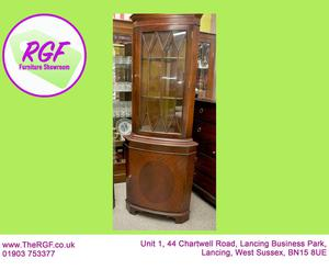 SALE NOW ON!! Corner Display Cabinet - Local Delivery £19