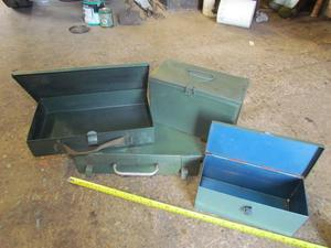 STEELL AMMUNITION BOXES