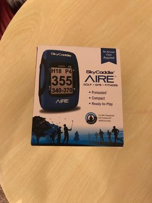SkyCaddie AIRE golf and fitness GPS *Brand New*