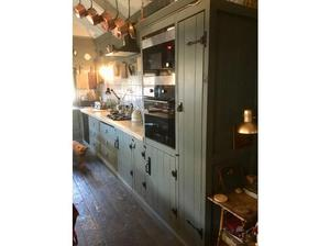 Solid wood full kitchen inc appliances in Sheffield