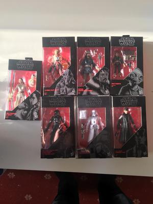 Star Wars Black Series. 7 mint in box