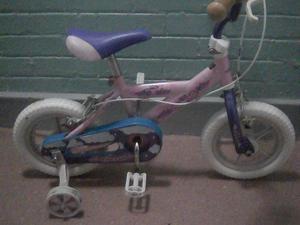Under 5,s girls bike