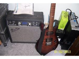 fender amp and vintage guitar. in Plymouth