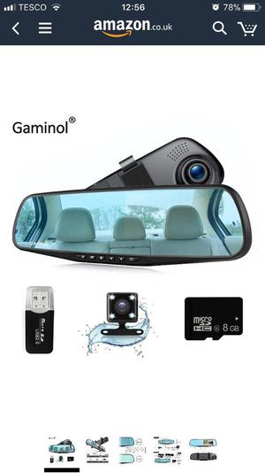brand new car dashcam recorder posot class. Black Bedroom Furniture Sets. Home Design Ideas