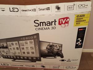 "LG Smart TV 42LA620V 42"" 3D p HD 3D LED Internet TV"