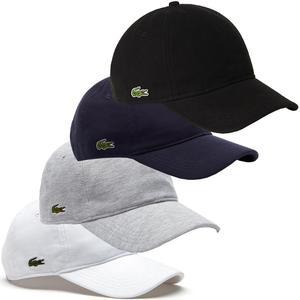 Lacoste Mens  Mens Cotton Pique Summer Baseball Cap Hat