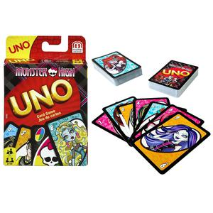 Mattel Games Monster High Uno Card Game Includes 112 Cards