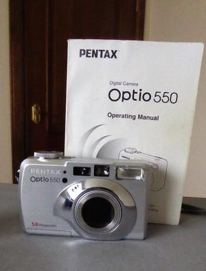 Pentax Optio 550 Camera