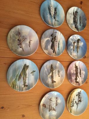 REACH FOR THE SKY COLLECTORS PLATES