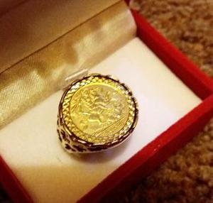 ST GEORGE GOLD RING