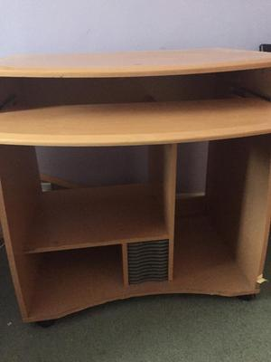 how to make a pull out shelf for a desk