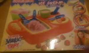 kids brand new ice cream maker