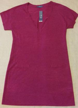 BNWT E-vie Ladies Pink Jumper Dress Size 14