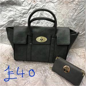 Bag sets with purses