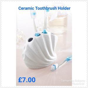 Ceramic Toothbrush Holder