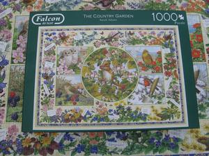 "Falcon DeLuxe  Piece Jigsaw Puzzle ""The Country Garden"""