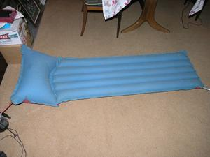Inflatable Camping Bed / Mattress and Pump Weymouth