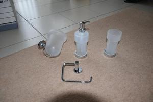 Valsan Set of 4 Wall MountableBathroom Accessories