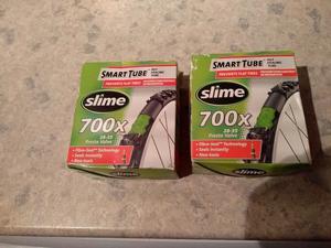 2 Slime Smart Tube Self Healing 700x  Presta - New but boxes tatty