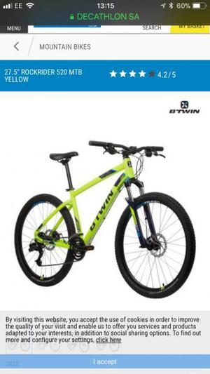 Bet win mountain bike New