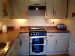 Complete kitchen, wall units, base units incl stainless