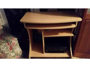 Computer desk with pull out shelf Burnham on Sea Somerset in