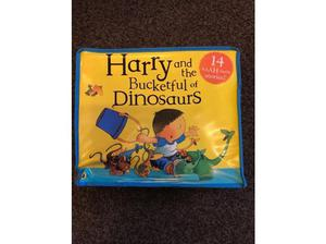 Harry and the bucket full of Dinosaurs book set 14 books in