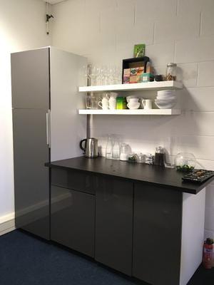 Integrated Fridge and Kitchen Units £195