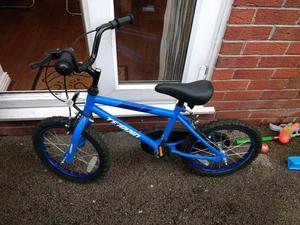 "Kids bike 16"" with stabilisers"