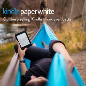 "Kindle Paperwhite E-reader, 6"" High-Resolutio n Display (300"