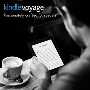"Kindle Voyage E-reader, 6"" High-Resolutio n Display (300"